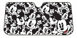 Mickey Mouse Sunshade Disney Car Windshield Wind Shield Sun Shade Windscreen New