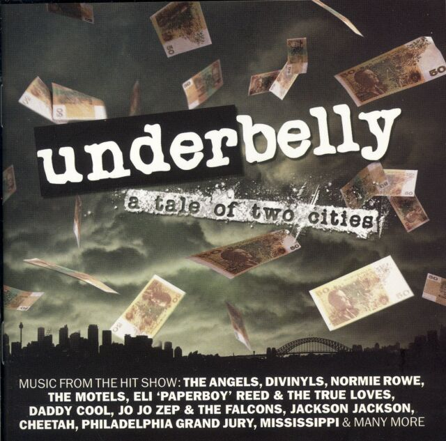 Underbelly A Tale Of Two Cities soundtrack CD NEW The Angels Cheetah Daddy Cool