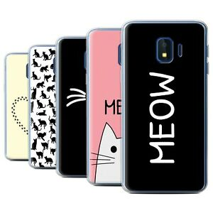 Gel-TPU-Case-for-Samsung-Galaxy-J2-Core-J260-Cute-Cartoon-Cat