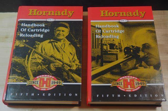 Hornady Handbook of Cartridge Reloading Fifth Editionl-(Vol 1 & 2) NOS
