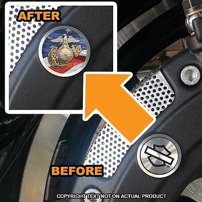 060 Brembo Front Brake Caliper Insert Set For Harley USMC EAG USA