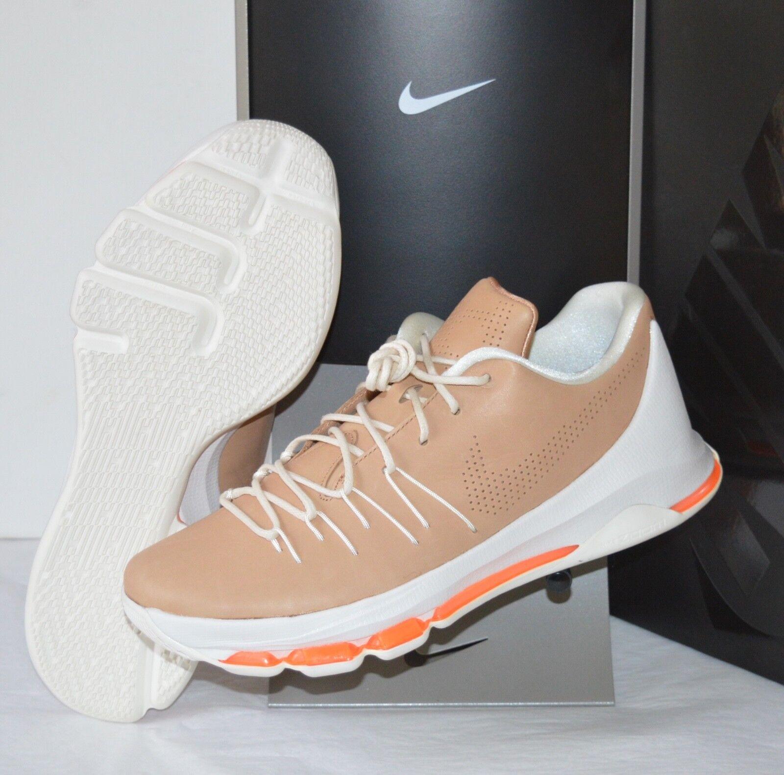 New  200 Nike KD 8 EXT Vachetta Tan Sail Total orange Kevin Durant sz 11.5 Zoom