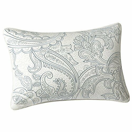 NEW Harbor House Chelsea Paisley 12 by 18 Inch Oblong Decorative Pillow