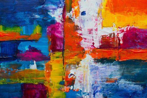 Kunst Malerei y00639 Wand Deko Leinwand Bilder