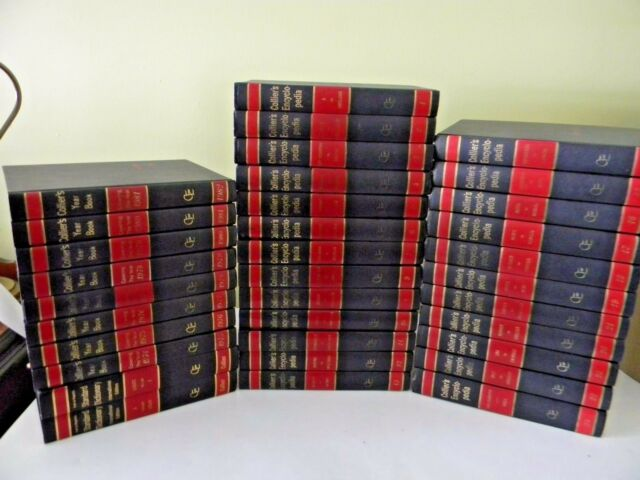 COLLIERS ENCYCLOPEDIA, 34 VOLUMES