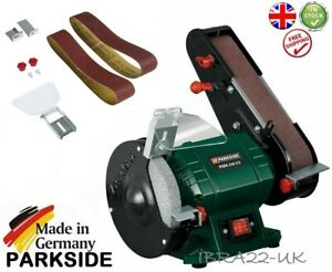 Wondrous Details About Parkside 240W 2 In 1 Bench Grinder With Belt Sander Psbs 240 C2 Germany New Pabps2019 Chair Design Images Pabps2019Com