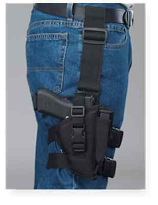 Bulldog tactical gun holster for HI-Point .45 with laser light attachment
