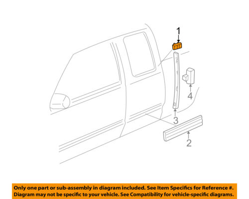 GM OEM Exterior-Cab-Emblem Badge Nameplate 15036134