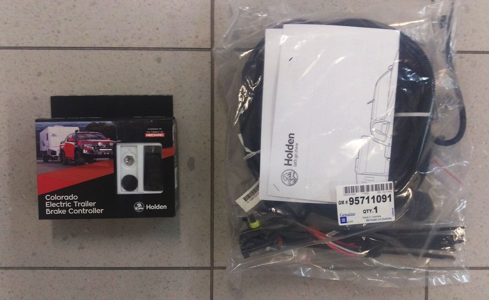 Genuine Gm Holden Colorado Electric Trailer Brake Controller My17 Ls Wiring Norton Secured Powered By Verisign
