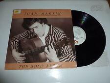 JUAN MARTIN - The Solo Album - 1985 German 9-track vinyl LP