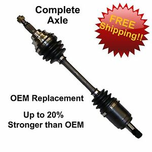 OE STYLE REAR LEFT REPLACEMENT CV AXLE FOR JOHN DEERE Gator XUV 850D 4x4 Diesel Olive 2007-2008