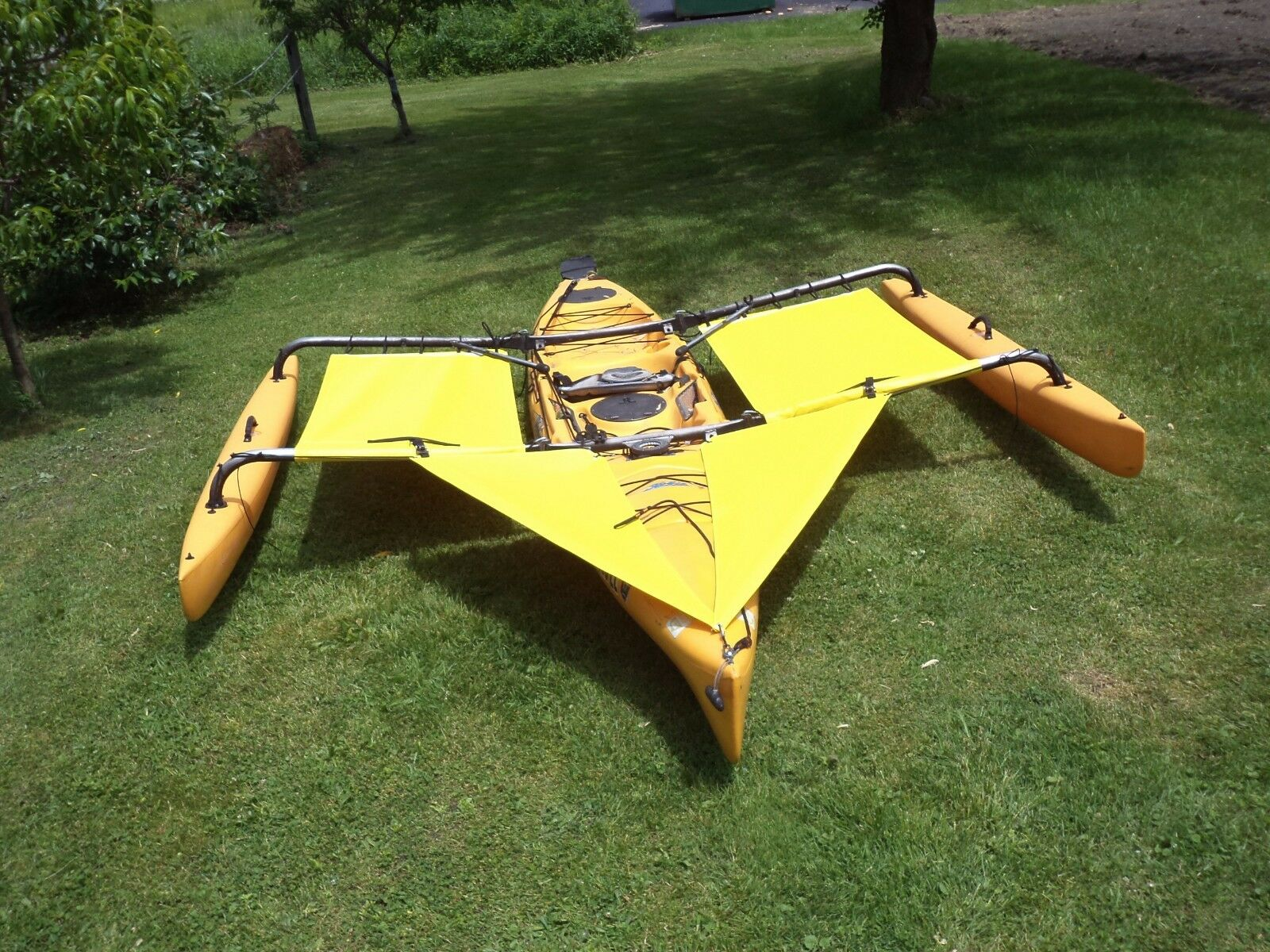 Hobie Adventure Island Kayak Trampoline & splash shield Gelb 2014 & earlier