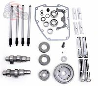 Andrews S&s Gear Drive Cams Pushrods Tubes Engine Install Kit Harley Twin Cam 88