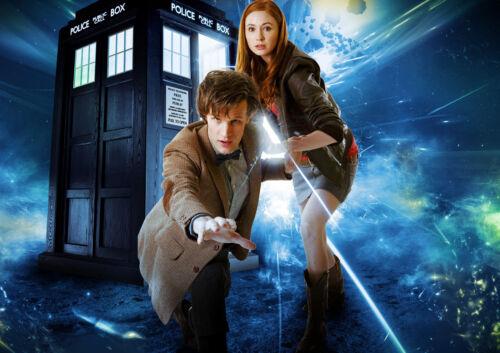 Dr Who mit Britisches Science Fiction Fernsehen Poster Bbc 1963 Time Lord Zeit
