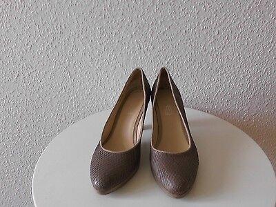 Schuhe Pumps EYE Gr.39 Leder TOP