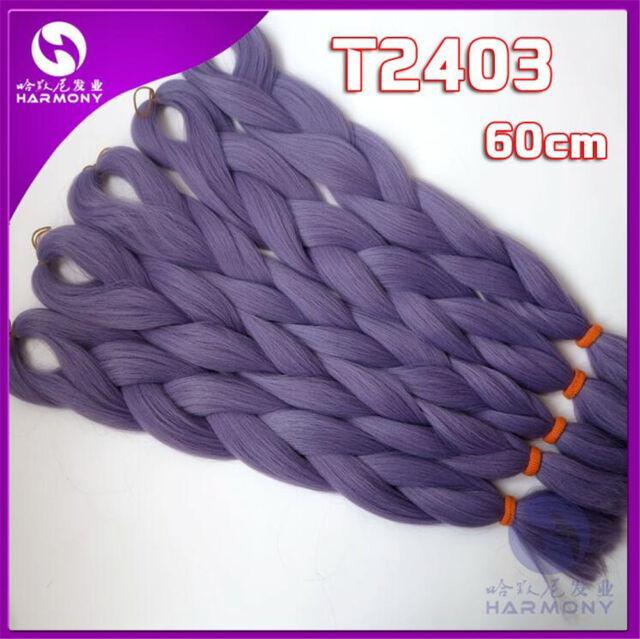 24 Kanekalon Jumbo Braiding Synthetic Hair Extension Twist Braids