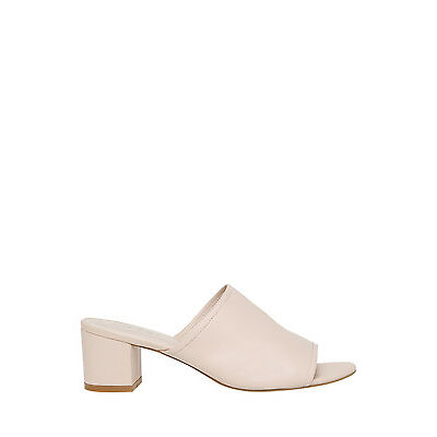 NEW Piper Gigi Nude Leather Sandal Beige