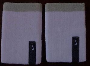 Nike Premier Wristbands Unisex Color White/timberwolf/black Set Of 2