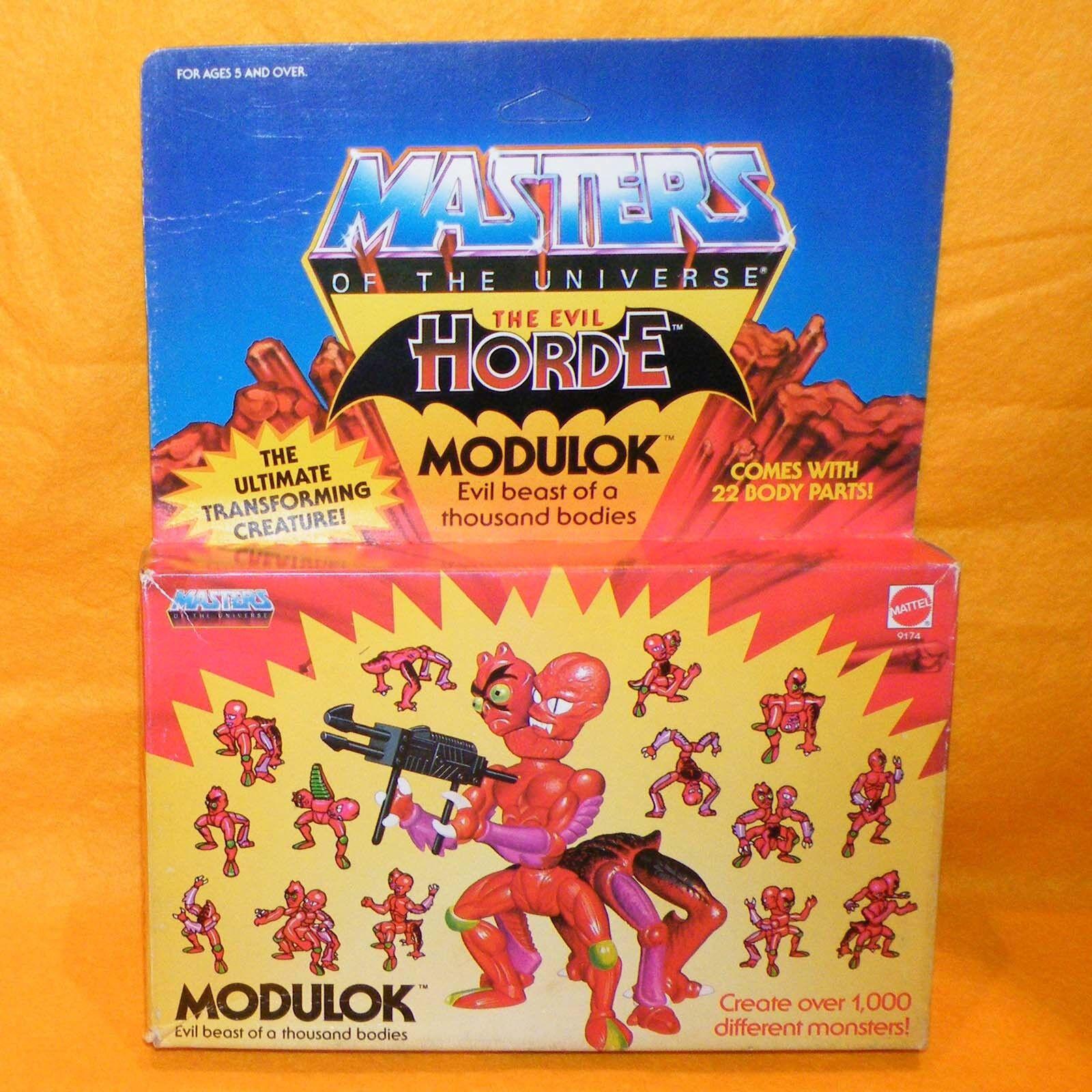 VINTAGE 1985 80s MATTEL MOTU HE-MAN MASTERS OF THE UNIVERSE MODULOK MISB BOXED 1