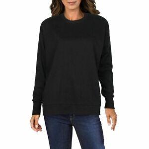 New Danielle Bernstein Women's Long-Sleeve Pullover Sweater Black Plus Size 3X