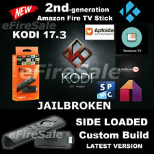 Amazon Fire TV STICK 2nd GEN 2017- UNLOCKED KRYPTON 17.3 - 2 BUILDS INCLUDED