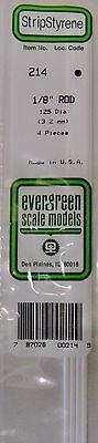"""Vendita Economica Evergreen Strip Styrene 214 4 X .1/8"""" (3.2 Mm) Rod. Attivando La Circolazione Sanguigna E Rafforzando I Tendini E Le Ossa"""