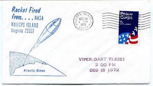 1972 Wallops Island Rocket Fired Viper Dart T1.6261 Wff Goddard Base Nasa Marchandises De Haute Qualité