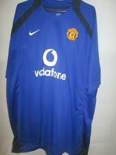 Manchester United 2004-2005 Training Leisure Red Devils Football Shirt XXL /5952