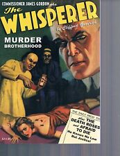 The Whisperer #7 Death Roses & Murder Brotherhood by Clifford Goodrich 2015 PB