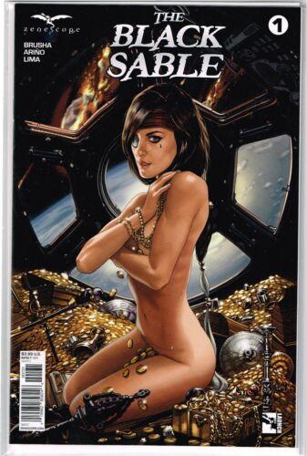 Vault 35 Black Sable #1 Cover C NM 2017 Zenescope Comic