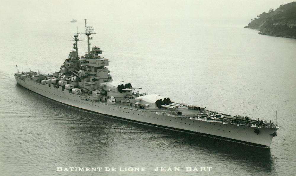 Jean Bart, corazzata.  modellololo edifici  autorizzazione ufficiale