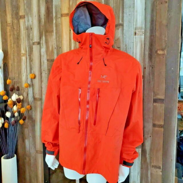 Arc'teryx Alpha SV Gore Tex Pro Alpine Jacket Mens XXL Cayenne Orange Blaze