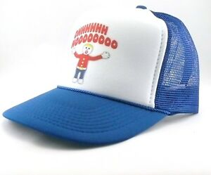 9402ace2cb3 Mr. Bill Trucker Hat mesh hat snapback hat royal blue new Vintage ...