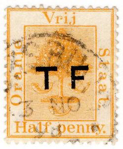 I-B-Orange-Free-State-Telegraphs-d-Pale-Orange-setting-4-overprint-error