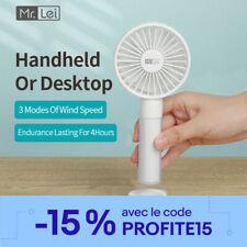 Mini Ventilateur de Poche Portable USB Rechargeable pour Maison Bureau et Voyage