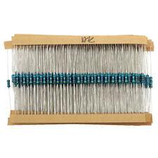 2600pcs 130 Values 1/4W 1% 0.25W Metal Film Resistors Resistance Assortment Kit