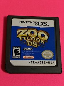 🔥 Zoo Tycoon DS - Nintendo DS Game Cartridge Only 💯WORKING GAME 🔥 SUPER FUN
