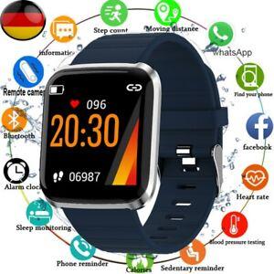 Smartwatch Bluetooth Armbanduhr Fitness Tracker Herzfrequenzmessung Wasserdicht