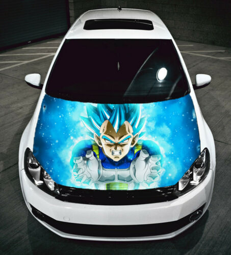 Dragon Ball Super Goku Car Hood Graphics Vinyl Sticker Decal Anime Manga Vegeta