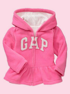 NEW GAP SHERPA JACKET SIZE 12-18-24M