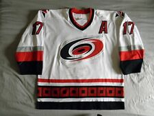 Rod Brind'Amour Game Worn Used Gamer Jersey Autographed Carolina Hurricanes CCM