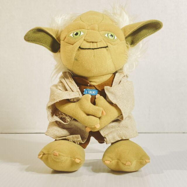 Star Wars 9 Inch Talking Yoda Plush Toy Lucasfilm - Tested & Works