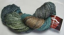 100g Mountain Colors TWIZZLE Hand Painted Merino Wool /& Silk Silverbow 250 yds