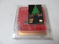 8-BIT XMAS 2015 NES Christmas Nintendo game cartridge RetroUSB card new