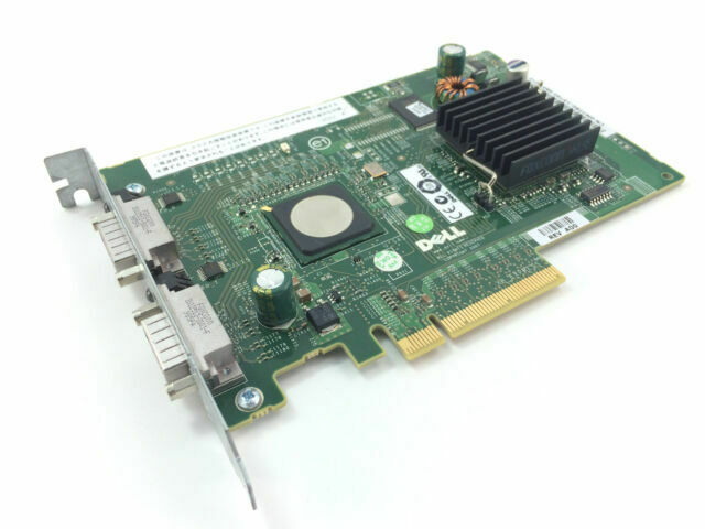 Dell 0M778G PERC 5//E PCI-E x8 Dual Channel HBA External SAS Raid Controller Card