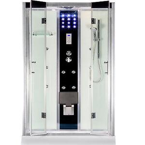 duschkabine regendusche fertigdusche dusche duschwand duschtempel mit klappsitz 661632065852 ebay. Black Bedroom Furniture Sets. Home Design Ideas