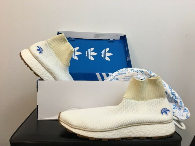 hot sale online 04f03 ca8f6 New Adidas X Alexander Wang AW Run Clean Yeezy Boost White Gum CM7828 Size  10.5