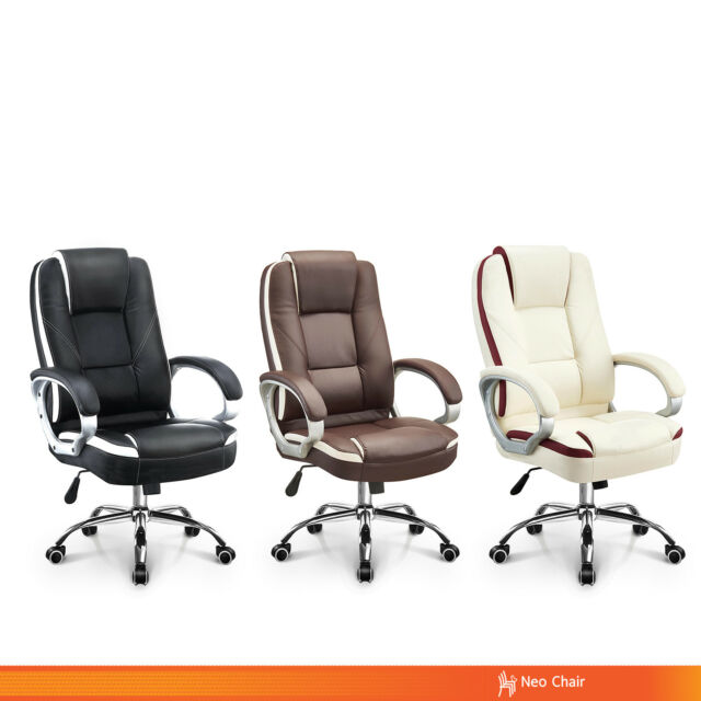 Peachy Office Chair Executive Computer Desk Chair Gaming Ergonomic High Back Swivel Dailytribune Chair Design For Home Dailytribuneorg