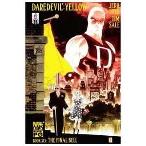 Daredevil-Yellow-6-in-Near-Mint-condition-Marvel-comics-zt