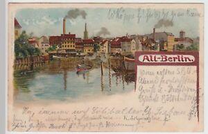 113727-Kuenstler-AK-Alt-Berlin-Haeuser-am-Wasser-1899